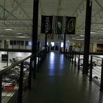 view of the race shop