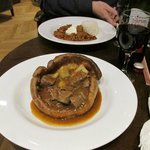 Yorkshire pudding in the Inkwell Bar
