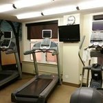 Ellis Hotel: I loved the gym