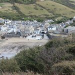 Port Isaac fro the hill top