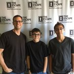 We escaped the Four Brothers with 3:30 left on the clock!  Great experience!