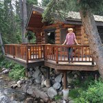 Great pic of our cabin