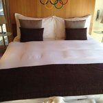 The Olympia Suite bed...no pressure :)