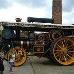 One of the many lovely steam engines