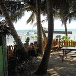 Plenty of shade and warm sea breezes on those HOT Belizean days.