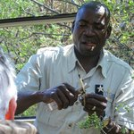 our guide / tracker Moja
