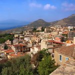 View from the rooftop, Casa Cuseni, Taormina, Sicily