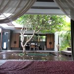 Spa Villa - View from Bed