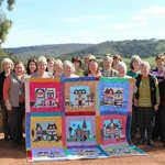 Quilting retreat group at Avalon
