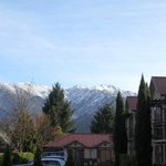 View on a lovely Spring day in Hanmer Springs