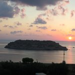 dawn over Spinalonga