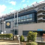View of Croke Park Stadium from Hotel Entrance
