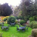 Side Garden of The Black Swan, Helmsley