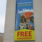 The sign outside Coventry Transport Museum