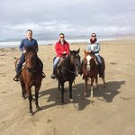 Beach ride with Outback Trail Rides