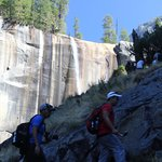 Approaching ascent to Vernal Falls
