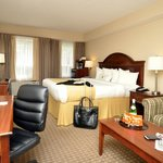 Executive King Room with Keurig Coffee Maker and Pull Out Sofa w Sitting area.