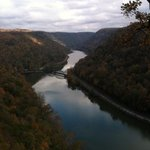 View of New River, Hawks Nest