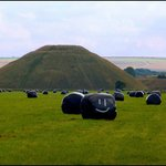 Smiley at Silbury Hill