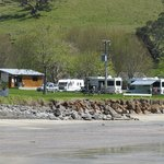 Campground from the seaward side