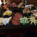 Ploughman's from the bar menu