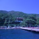 Viw of hotel from the sea