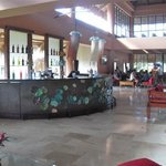 One of the many bars. Front reception area.