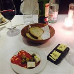 Appetisers and wine ��