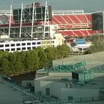 View of Levi's Stadium from My room