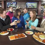 Gather with friends for happy hour at O'Malley's Sports Pub.