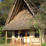 "Our ""Ziwa Hut"""