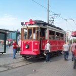 Catch the trams to get to the Taksim Square and the hotal