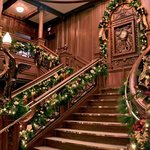 Walk the Grand Staircase at the Titanic Museum Attraction in Branson, Mo.