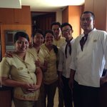The amazing staff of The Longhouse