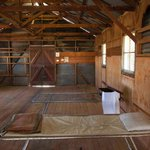 One of the old sleeping quarters