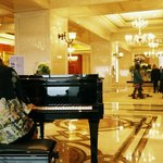 Lobby with Live Piano Music