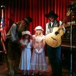 """Live show at the """"saloon"""""""