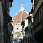 View of the Duomo, just a few minutes walk away.