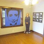 HIllary, in Carboard Form