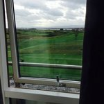 view from the room over the links