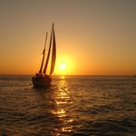 Dolphin Landings Sunset Sail near Pass-a-Grille point