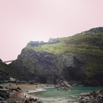 Tintagel beach and Merlins caves - best part of day