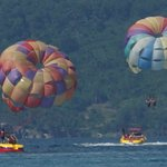 PArasailing is everywhere - we paid 900 PHP each usual is 1250 each