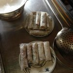 Hanoi Spring Rolls ready to be fried