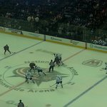 Face-off on Center Ice - Nationwide Arena