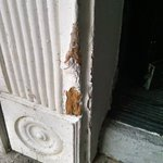 Damaged Exterior Door Jamb