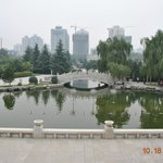 View of Xi'an from the museum