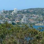Panorama of Manly from Spit to Manly Walk