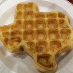 Texas-shaped waffles! :)