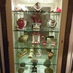 "Cabinet of ""treasures"" in the room"